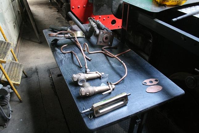 Révision des accessoires de la chaudière (photo Ajecta)