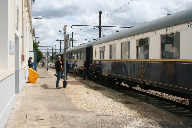 Stationnement en gare de Montereau (photo Ajecta/P.Berger)