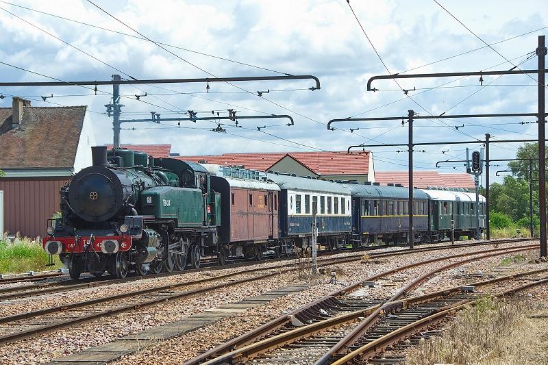 Arrivée en gare de Montereau (photo C.Santiciollli)